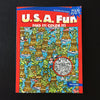 USA Fun Puzzle and Coloring Book