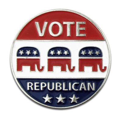 Vote Republican Pin