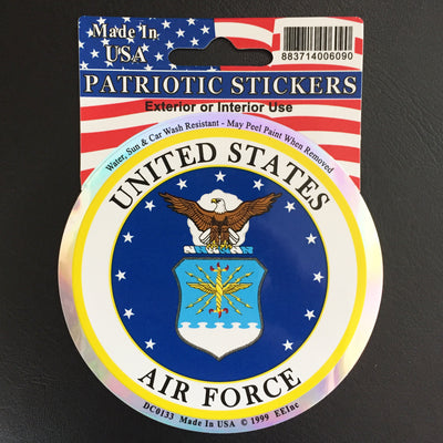 US Air Force Sticker (Made In The USA)