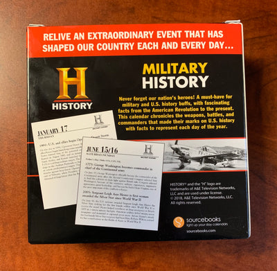 This Day In Military History 2019 Desk Calendar