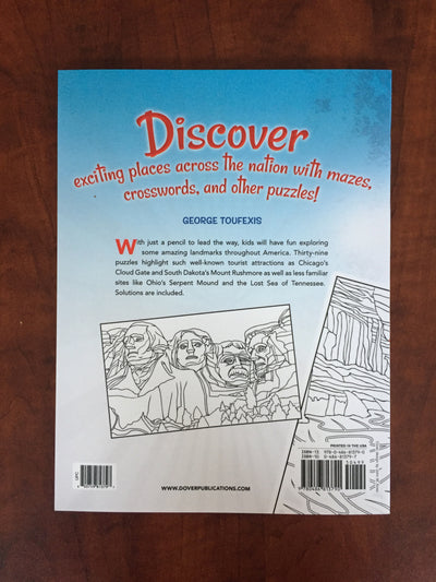 U.S.A. Facts & Fun Activity Book