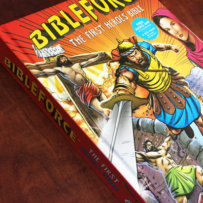 BibleForce: The First Heroes Bible