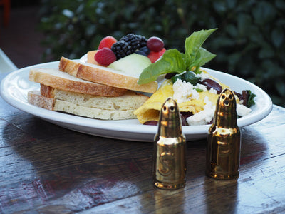 Bullet Salt and Pepper Shakers