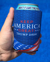 Keep America Great: Trump 2020 Koozie