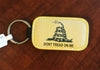 Don't Tread on Me Leather Keychain