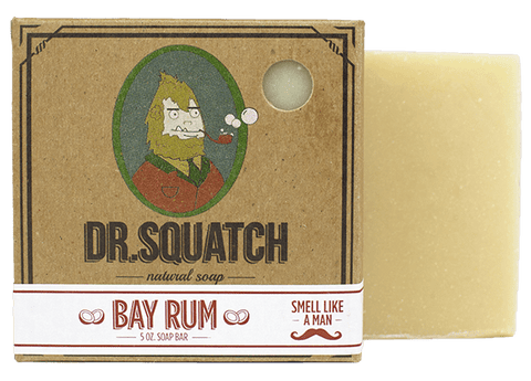 Dr. Squatch Bay Rum Soap