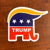 Trump GOP Elephant Sticker (MADE IN THE USA)