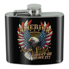 America Love It Or Leave Eagle Flask