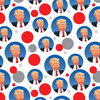 Happy Donald Trump Wrapping Paper