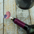Trump American Flag Heart Bottle Stopper