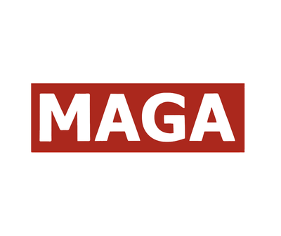 "MAGA Bumper Sticker (8"" x 2.4"")"