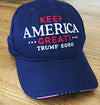 Keep America Great Cap - Navy (Custom Embroidered)