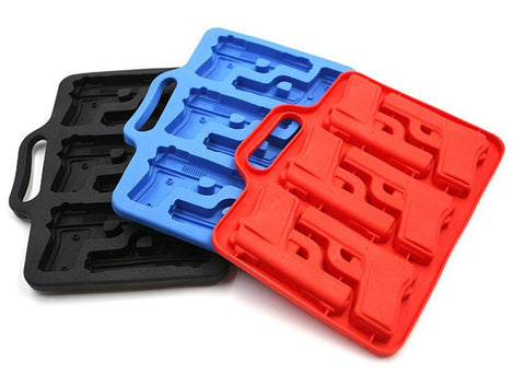 Pistol Ice Cube Mold Tray