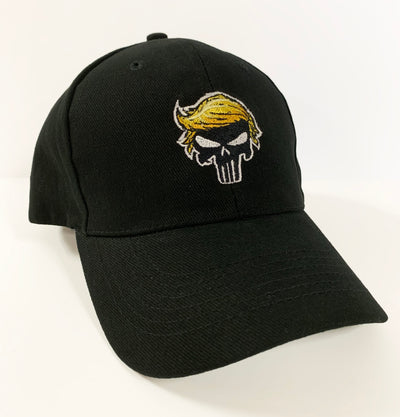 Punisher Trump embroidered cap