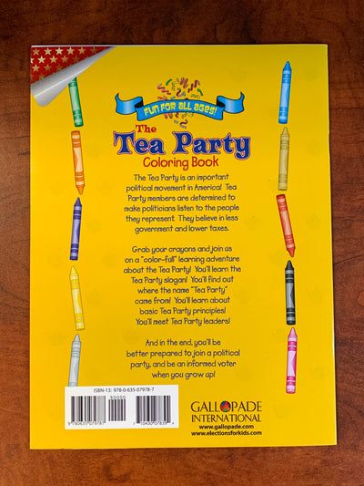 The Republican Party and Tea Party Coloring Book Set