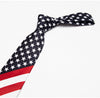Red White Blue Stars and Stripes Tie