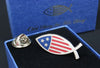 Star-Spangled Fish Pin