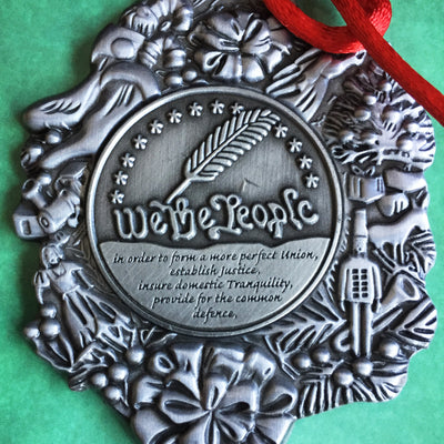 We The People Commemorative Christmas Ornament (Collector's Item)