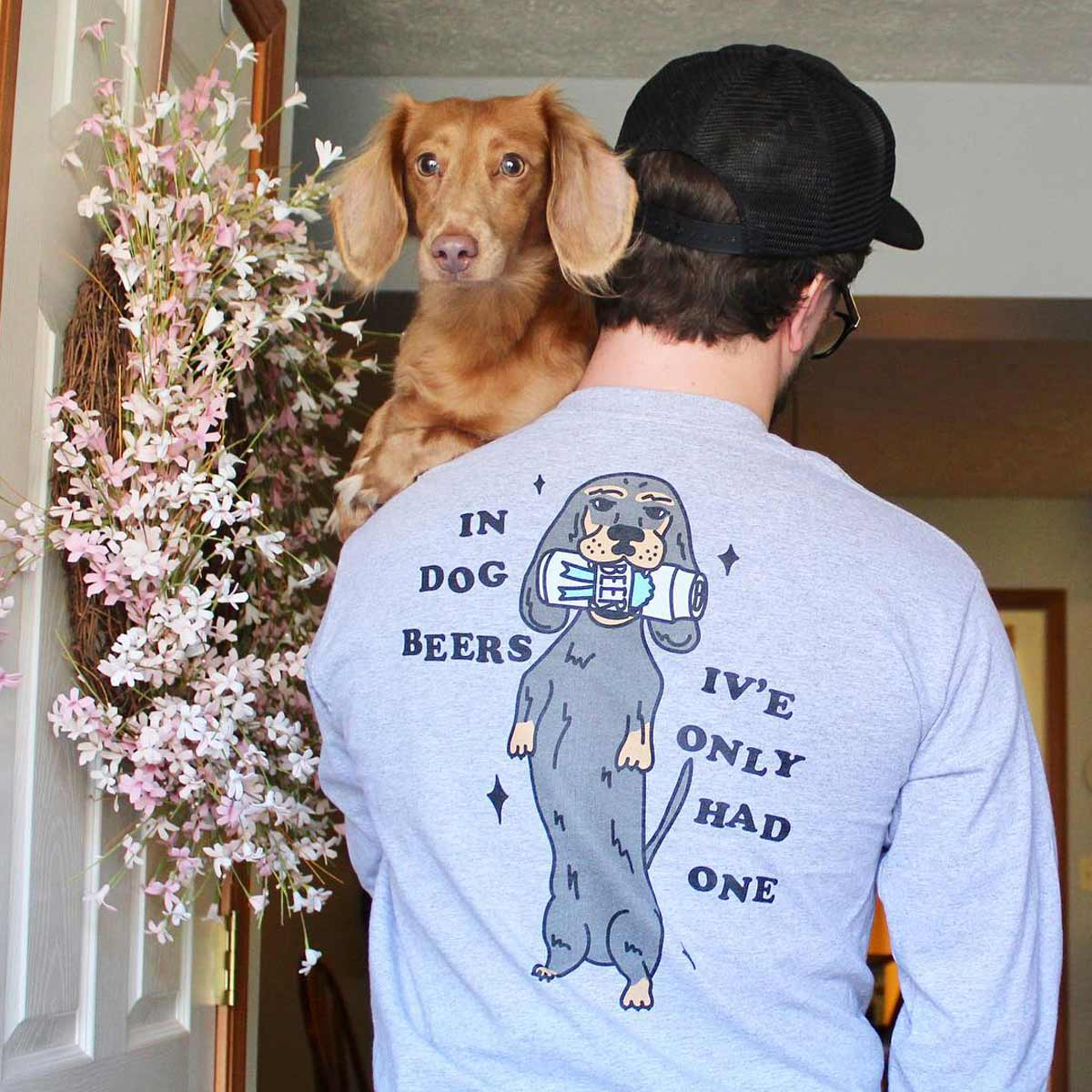 dog dads featured on bean goods blog for father's day.