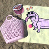 long dog beach towel