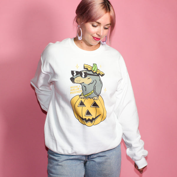 hallowiener dachshund halloween shirt by bean goods!