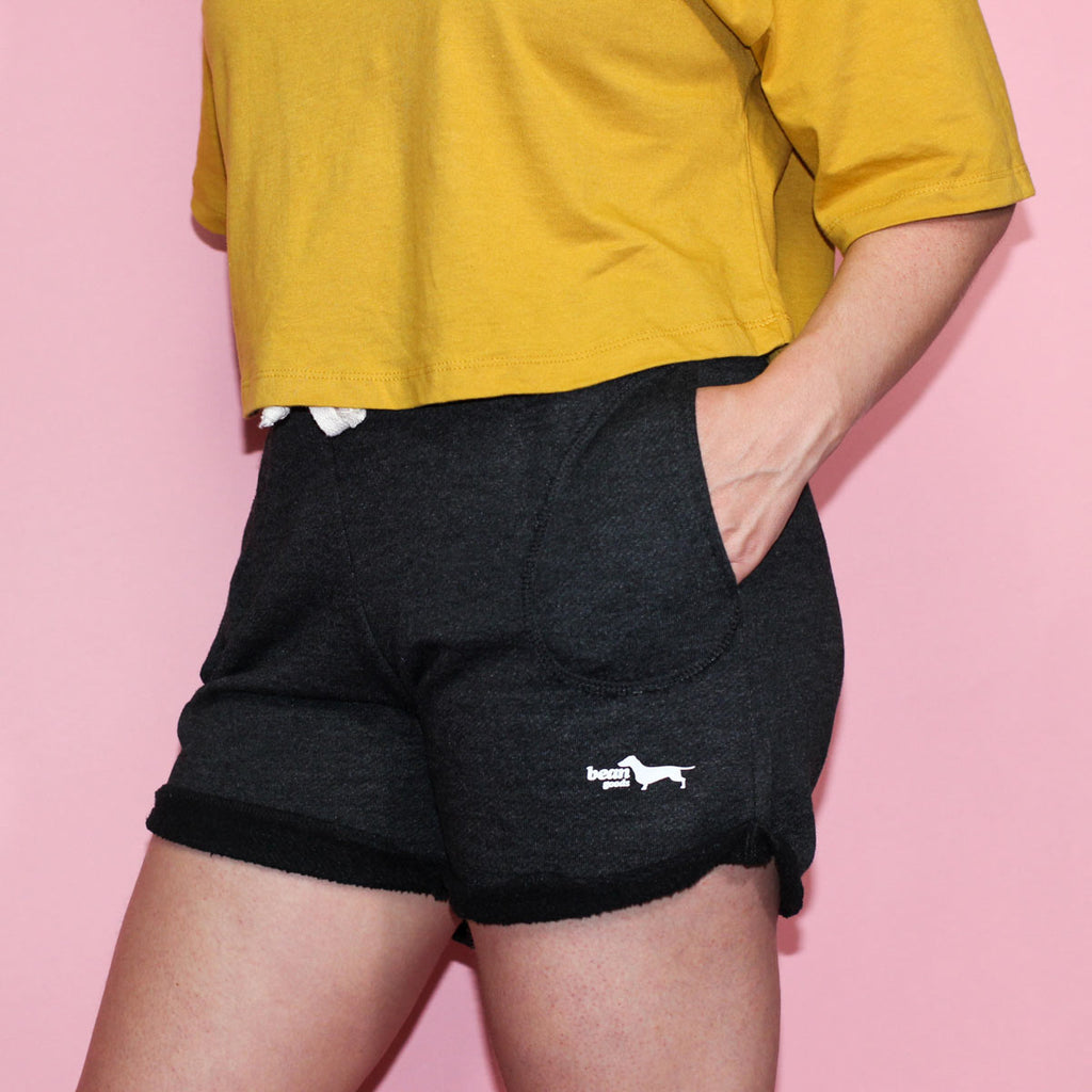 dachshund sweat shorts | dachshund clothing and accessories