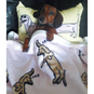 Sleeping Dachshunds Plush Blanket | BeanGoods