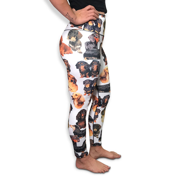 Dachshund High-Waisted Legging | BeanGoods