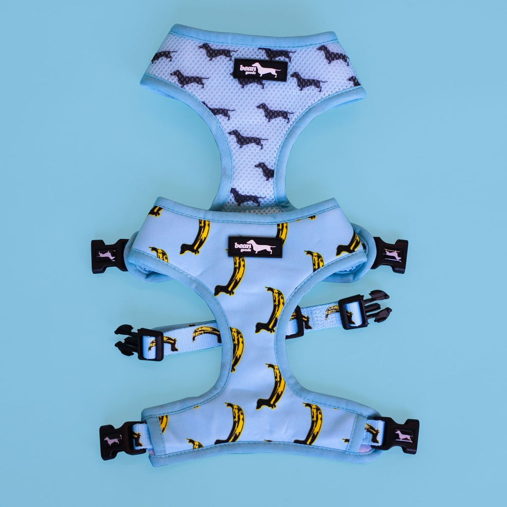 banana wiener reversible harness - BeanGoods