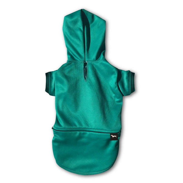 doxie hoodie in emerald
