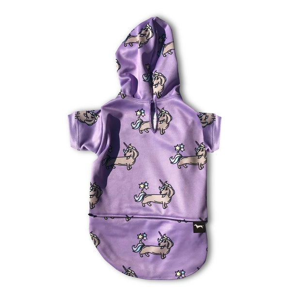 Dachshund and Unicorns Dog Hoodie | BeanGoods