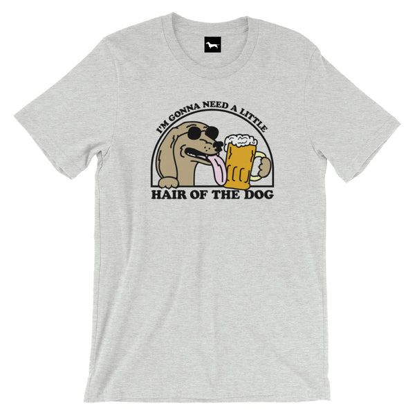 hair of the dog dachshund t-shirt