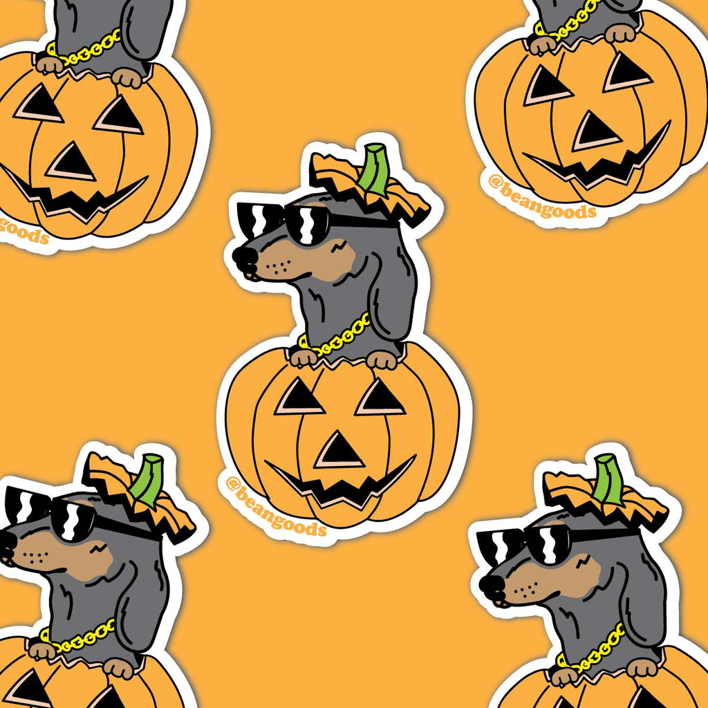 hallowiener sticker - BeanGoods