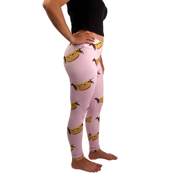 hot dog legging