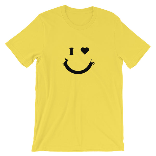 Happy Face Dachshund Tee | BeanGoods