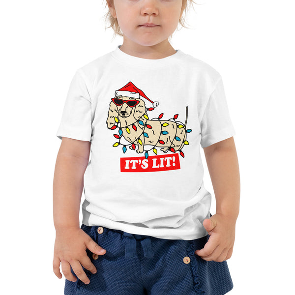 It's Lit Toddler Tee | BeanGoods