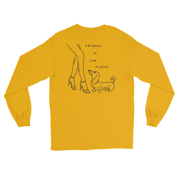 low places long sleeve tee