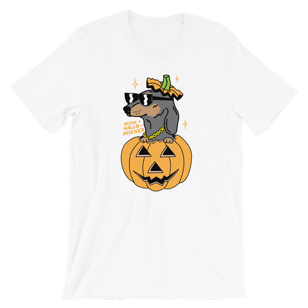 rescue a hallowiener tee | 15% donated to rescue orgs