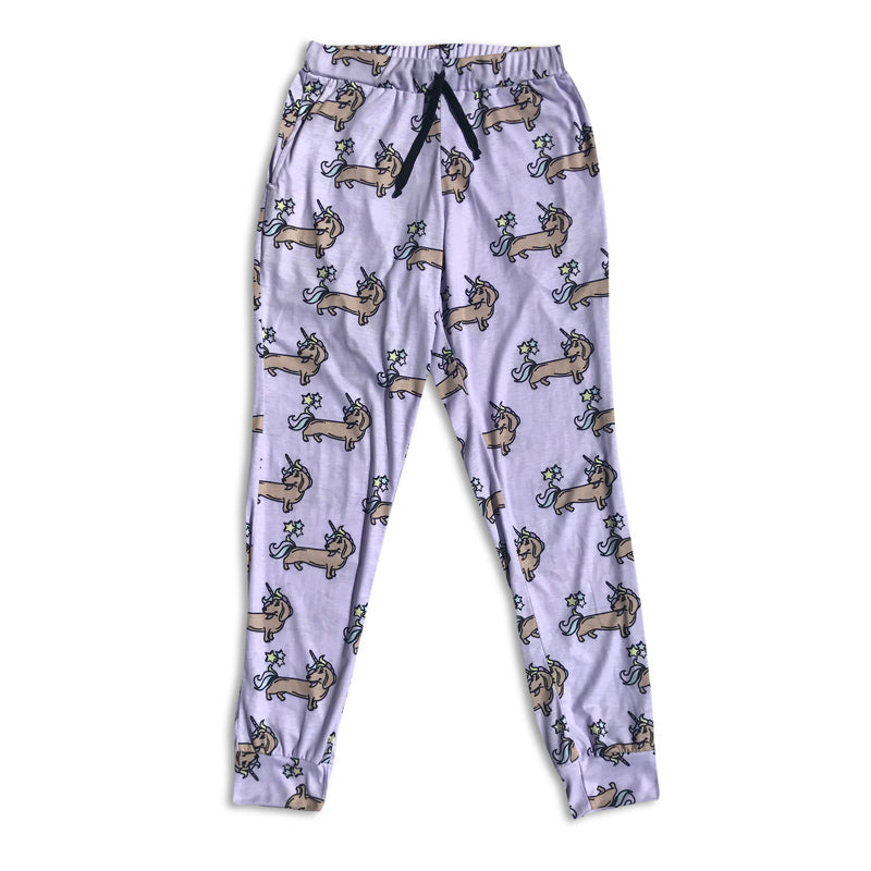 Dachshund and Unicorns Joggers | BeanGoods