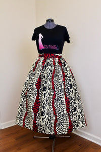 The RoPuddles Midi Skirt