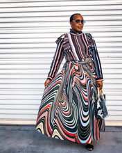 How to style an African Print Maxi Skirt