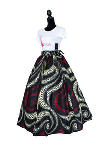 Top Quality African Print Maxi Skirt