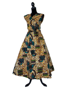 african skirts and dresses