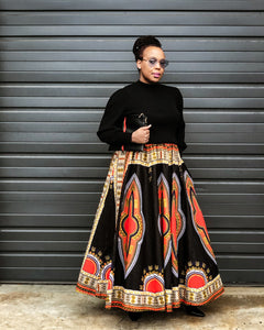 Fashions by RoPuddles How to style an african print skirt