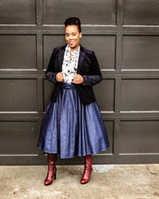 Fashions by RoPuddles How to style a denim skirt