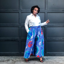 fashions by ropuddles african print wide leg pants