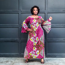 fashions by ropuddles african print dress