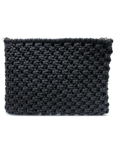 Fashions by RoPuddles black clutch bag