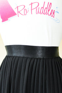 Fashions by RoPuddles black pleated skirt