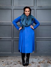 teal blue cashmere wrap shawl